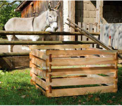 Holz Komposter Haunschmid